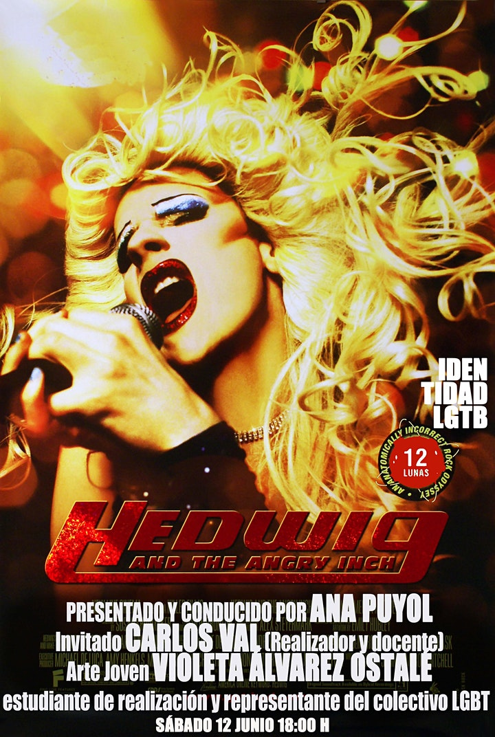 Imagen de 12 LUNAS: HEDWIG & THE ANGRY INCH. john cameron mitchell 2001
