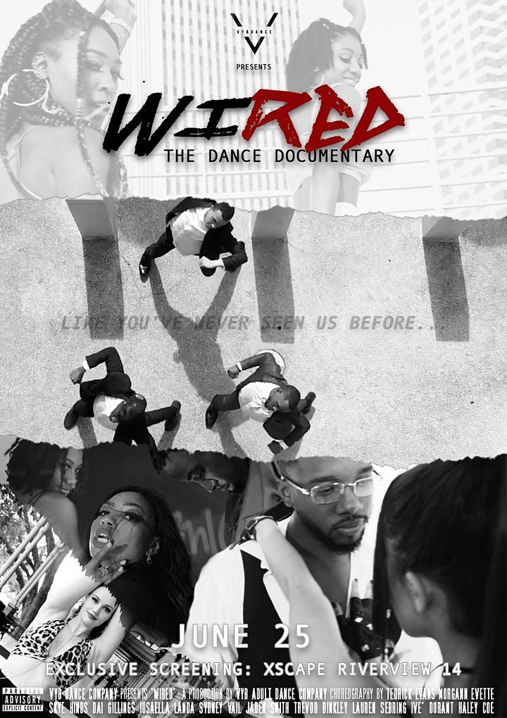 """VYB Dance Presents: """"WIRED"""" Premiere Screening image"""