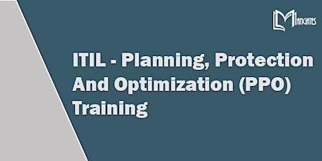 ITIL-Planning, Protection & Optimization Virtual Training in Guadalajara tickets