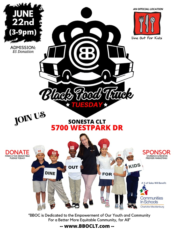 Black Food Truck Tuesdays : Charity Event image