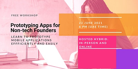 Prototyping mobile applications for non-tech founders tickets