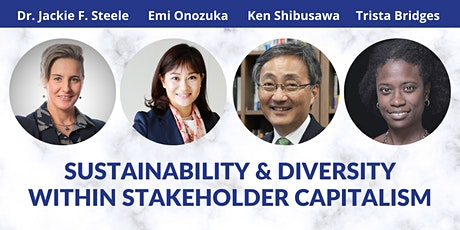 Sustainability and Diversity within Stakeholder Capitalism tickets