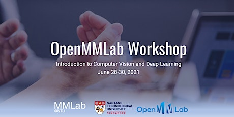 OpenMMLab Workshop 2021 - Introduction to Computer Vision and Deep Learning tickets