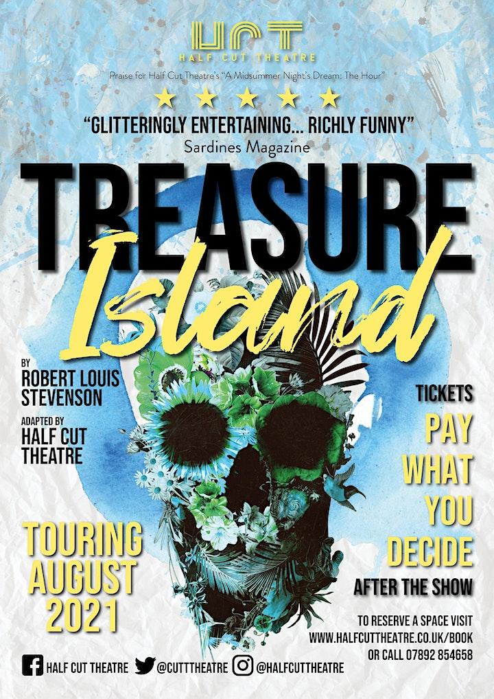 Half Cut Theatre's Treasure Island @ The Isis 6.30pm image