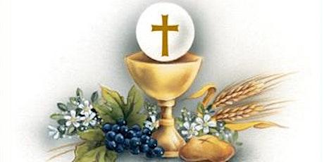 6 pm Vigil Mass, St Mungo's Alloa, Saturday 19th  June 2021 tickets