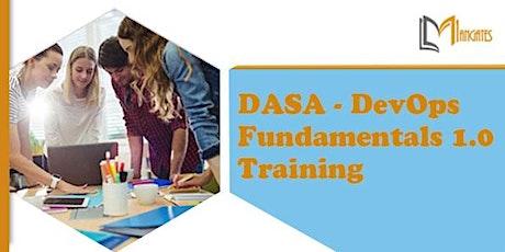 DASA - DevOps Fundamentals™ 1.0 3 Days Virtual Training in Cuernavaca tickets