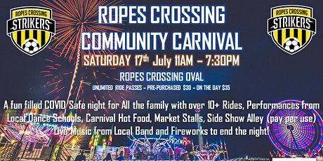 Ropes Crossing Community Carnival tickets