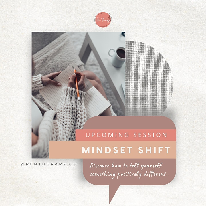 Mindset Shift Wellbeing Journaling Session - 3PM image