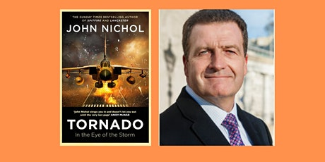 FREE EVENT: An Evening with John Nichol: Author of 'Tornado' tickets