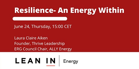 Resilience- An Energy Within tickets