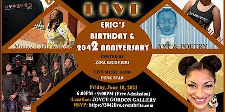 2042 LIVE  Anniversary and Birthday Celebration tickets