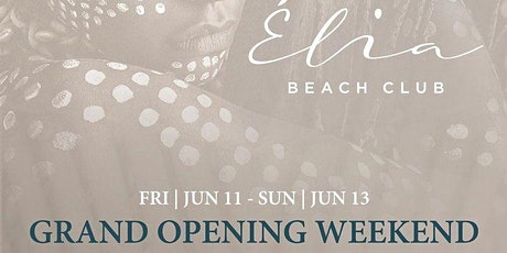 POOL PARTY AT ÉLIA BEACH CLUB LAS VEGAS (GRAND OPENING WEEKEND) tickets
