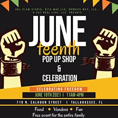 Juneteenth pop up shop & celebration tickets