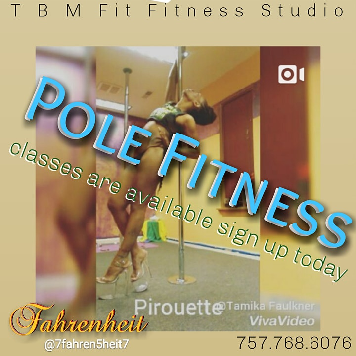 ( FREE )  Pole Fitness Q & A and Class Registration image