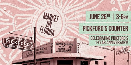 Market on Florida at Pickford's Sundries tickets