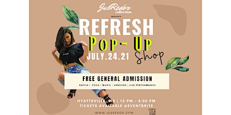 Refresh Relaunch Pop-Up Shop  2021 | Shop Local Businesses tickets