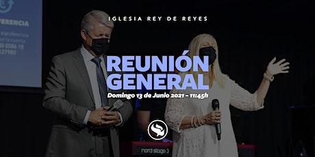 Reunión general - 13/06/21 - 11:45h entradas