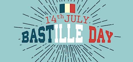 Bay and Bush Cottages, Bastille Day Dinner tickets