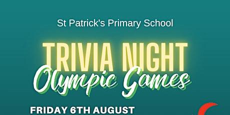 St Patrick's Primary School Trivia Night 2021 tickets