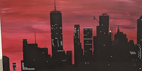 Paint & Vibe- New York Skyline tickets