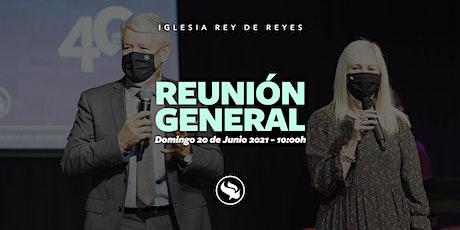 Reunión general - 20/06/21 - 10:00h entradas