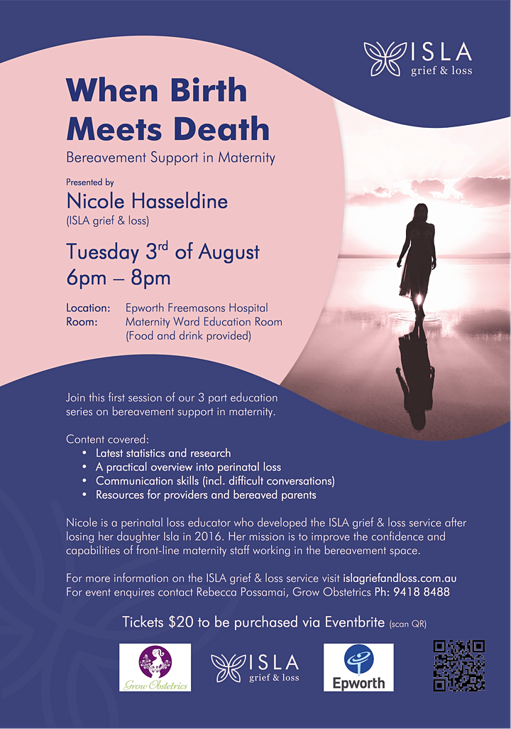 When Birth Meets Death - Bereavement Support in Maternity - image