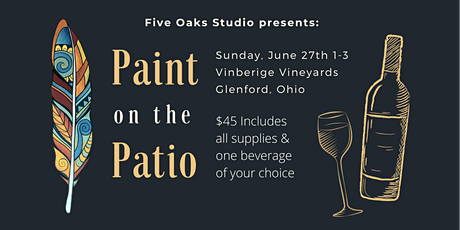 Paint on the Patio tickets