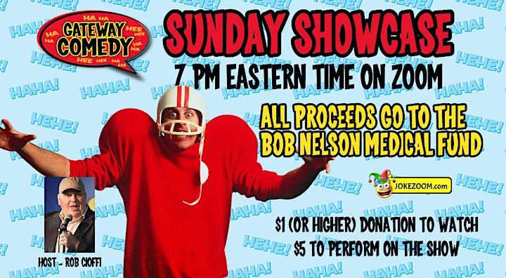 Zoom Sunday Showcase image