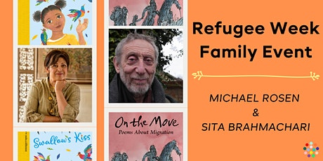 Refugee Week Family Event: Michael Rosen and Sita Brahmachari tickets