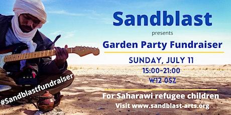 Sandblast Garden Party Fundraiser tickets