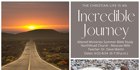 The Incredible Journey - 10 Week Coed Biblestudy (EXTRA TICKETS HERE) tickets