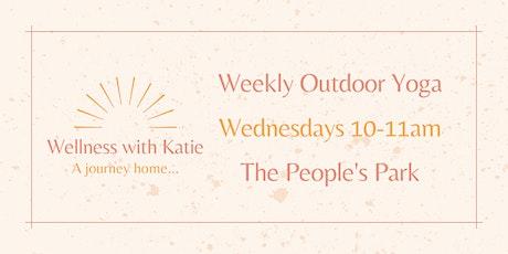 Weekly Outdoor Yoga in the People's Park with Katie Duggan tickets