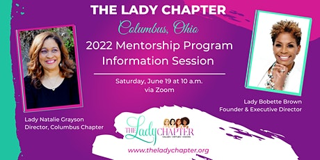 Information Meeting: The Lady Chapter of Columbus, OH-Mentorship Program tickets