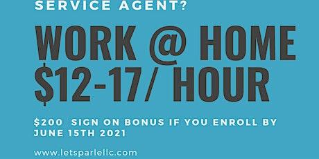 Work at Home Job Fair tickets