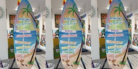 Surfboard: Dundalk, Seasoned Mariner with Artist Katie Detrich! tickets