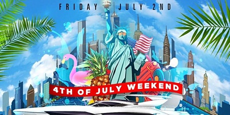 INDEPENDENCE DAY SUNSET SUMMER CRUISE : JEWEL YACHT : NYC tickets