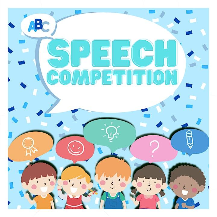 Speech Competition: Grades 1-8 image