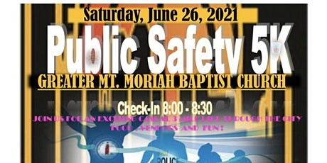 Public Safety 5k  Community  Bike Ride tickets