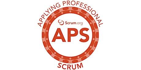 Live Virtual Classroom: Applying Professional Scrum (APS) biglietti