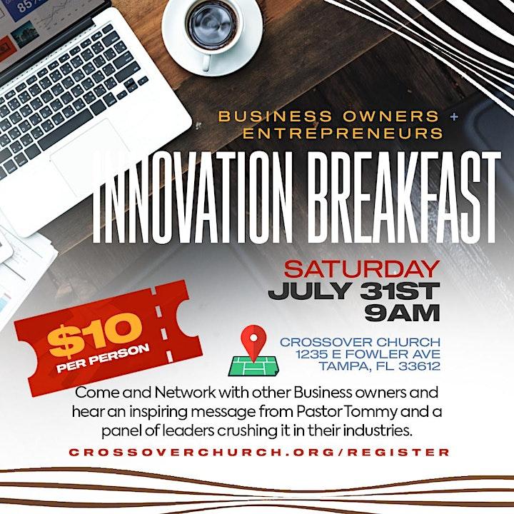 Business Owners / Entrepreneurs Innovation Breakfast image