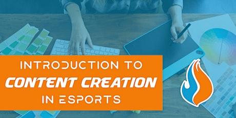 TBJRLC - Esports Content Creation: The Basics tickets