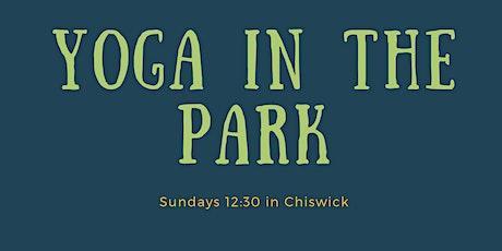 VINYASA YOGA IN THE PARK - CHISWICK tickets