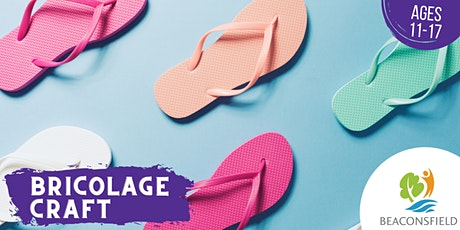 Brico ados: Transforme tes gougounes • Teen craft: Flip your flip-flops tickets