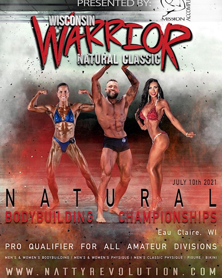 2021 Wisconsin Warrior Natural Bodybuilding Classic image
