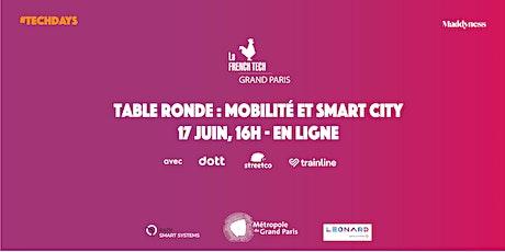 Table Ronde Smart City & Mobilité billets