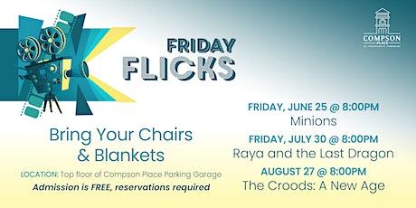 Friday Flicks: Compson Place at Renaissance Commons, Boynton Beach - July30 tickets