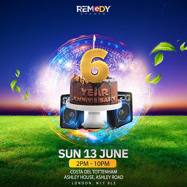 Remedy 6th Year Anniversary image