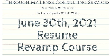 Resume Revamp Course tickets
