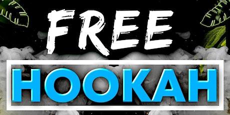 FREE HOOKAH MONDAYS tickets