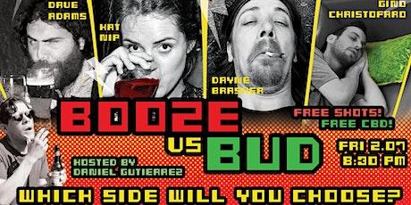 Booze vs Bud - English Comedy Night #2 Tickets